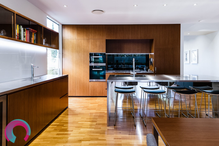 Architecturally designed residential interior East Brisbane by Tektonika Architects