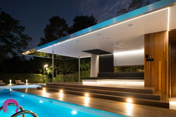 Turning a disused pool into the jewel of the house